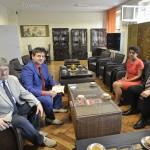 Delegacja Narodowego Uniwersytetu Górniczego z Dniepropietrowska