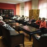 Herbaciane spotkanie seniorów