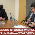 Hongbo otworzy w Opolu centrum badawczo-rozwojowe