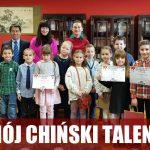 """""""Mój Chiński Talent"""" - rozdanie nagród"""