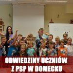 Wizyta uczniów Publicznej Szkoły Podstawowej w Domecku