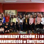 Wizyta uczniów z klas uniwersyteckich z językiem chińskim z I LO im. J. Kochanowskiego w Świętochłowicach