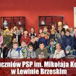 Wizyta uczniów PSP im. Mikołaja Kopernika w Lewinie Brzeskim.