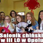 Salonik chiński w III LO w Opolu