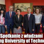 Spotkanie z władzami Beijing University of Technology