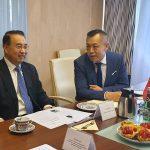 Wizyta Ambasadora Chińskiej Republiki Ludowej w Polsce