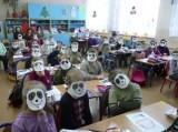 <strong>Lekcja języka i kultury chińskiej dla dzieci ze szkoły podstawowej w Grabinie</strong> (1/4)