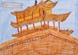 <strong>Instytut Konfucjusza przedstawia wyniki konkursu rysunkowego dla dzieci Skarby architektury Chin</strong> (1/7)