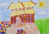 <strong>Instytut Konfucjusza przedstawia wyniki konkursu rysunkowego dla dzieci Skarby architektury Chin</strong> (2/7)